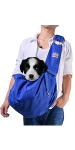 Blue Medium Dog Carrier Sling